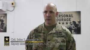 Secretary of the Army visits Camp Arifjan
