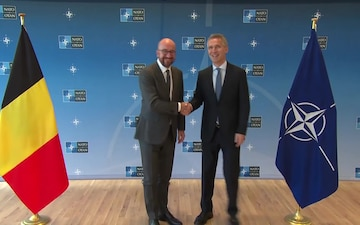 Visit to NATO by the Prime Minister of the Kingdom of Belgium, B-Roll
