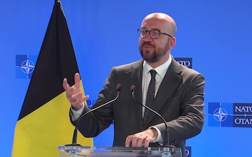 Visit to NATO by the Prime Minister of the Kingdom of Belgium, Joint Press Point