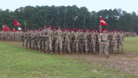 82nd Division Artillery welcomes new commander