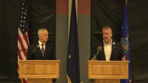 Secretary Mattis and Senator Sullivan Press Conference