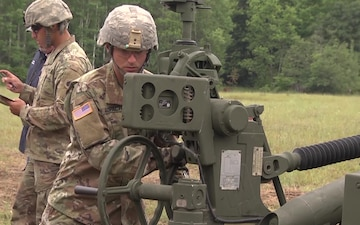 1-134th Field Artillery Debuts the M777 Howitzer