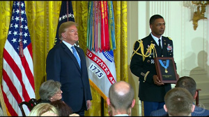 President Presents Medal of Honor During White House Ceremony