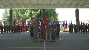 Wounded Warrior Battalion East Change of Command