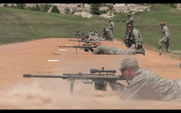 50 caliber practice in Wyoming