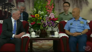 Mattis Visits Beijing to Discuss Shared Interests