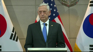 Mattis Reaffirms Commitment to South Korea