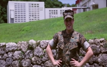 Marines shout out for their favorite Baseball team