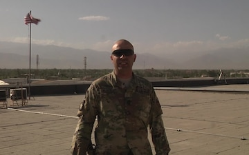 Army Sgt. 1st. Class Jose Placker sends a 4th of July greeting
