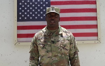 1st Sgt. James Campbell - Independence Day 2018
