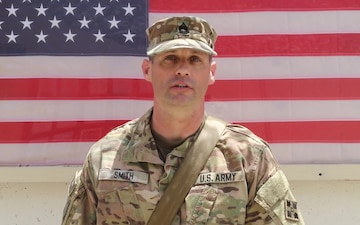 Sgt. 1st Class Christopher Smith - Independence Day 2018