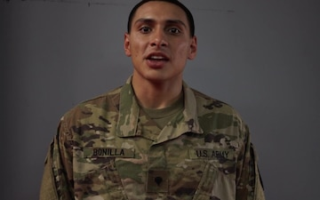 Spc. Antonio Bonilla speaks about his favorite part of competition from day three of the2018 USARCENT Best Warrior Competition