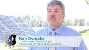 Vandenberg AFB's massive solar array ensures Warfighter mission resiliency