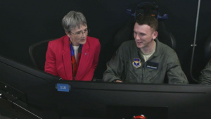 Secretary of the Air Force visits JBSA