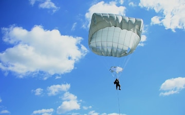 Sky Soldiers from 54th BEB & 173rd BSB Jump at Juliet DZ