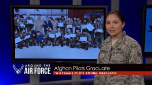 Around the Air Force: Rescue at Sea/Afghan Graduates/Pilot Training