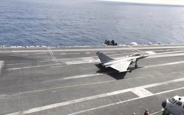 USS Harry S. Truman Conducts Operations with French Naval Aviation Aircraft