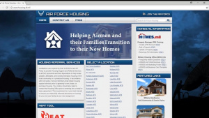 New Air Force Housing Early Assistance Tool