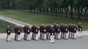Marine Barracks Washington Sunset Parade