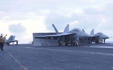 USS Harry S. Truman Flight Ops B-Roll