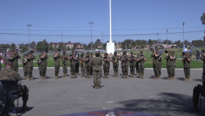Change of Command Ceremony: Commanding General of 1st MARDIV (Part 1)