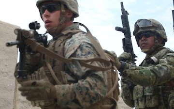 U.S. and Mexican Marines Conduct Integrated Infantry Immersion Training