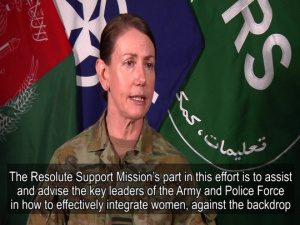Resolute Support Gender Advisor