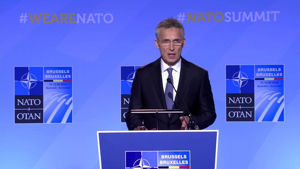 DVIDS - Video - Press conference by NATO Secretary General Jens Stoltenberg ahead of the NATO Summit in Brussels