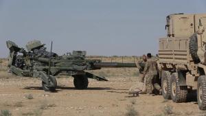 3rd Cavalry Regimient M777 Setup