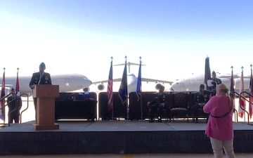 60th Air Mobility Wing Change of Command Ceremony 2018 part 3