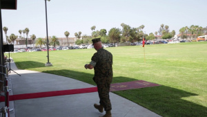 H&S Bn. Change of Command speeches (Broll)