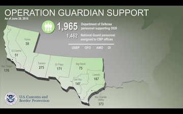 Operation Guardian Support as of June 28, 2018.