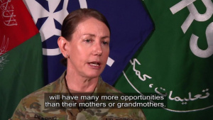 Resolute Support Gender Advisor, Part 4