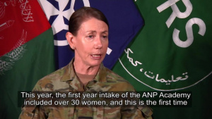 Resolute Support Gender Advisor, Part 2