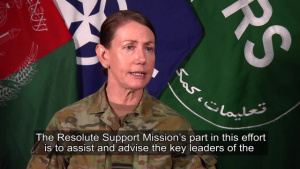 Resolute Support Gender Advisor, Part 1
