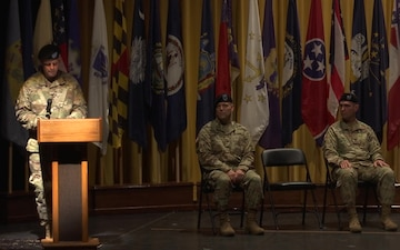 USACE Japan District Change of Command Ceremony