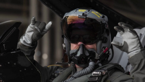 Col. R. Scott Jobe Takes His Final Flight