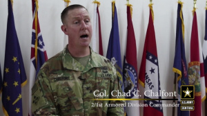 155th Armored Brigade Combat Team Assumes Operational Authority