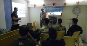 Members of the Iraqi Security Forces Receive Information Operations Training
