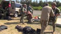 Explosive Ordnance Disposal Mobile Unit 3 Practices Static Line Jumps