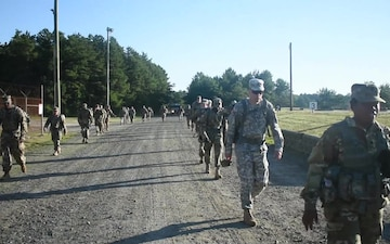 58th EMIB AT Ruck March