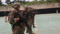 Force reconnaissance Marines conduct marksmanship training