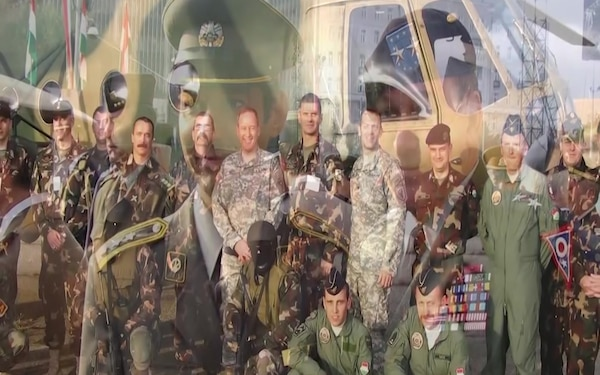 Ohio National Guard and Hungarian 25th State Partnership Program Anniversary
