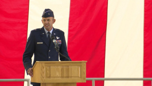 412th Test Wing Change of Command