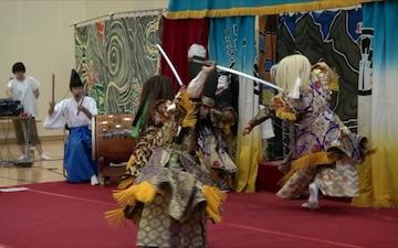 Hiroshima Azora dancers share Japanese culture with MCAS Iwakuni (B-Roll)
