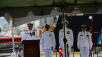 B-Roll: Coast Guard 14th District holds change of command in Honolulu