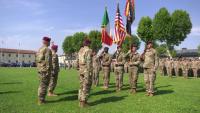 Change of Responsibility Ceremony, 1st Battalion 503rd Infantry Regiment, 173rd Airborne Brigade.