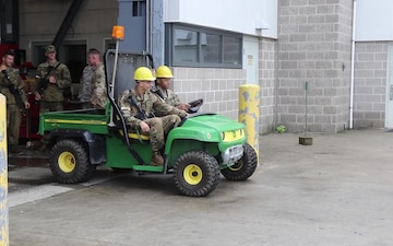 Soldiers train on Gator vehicles during ARNG Best Warrior Competition