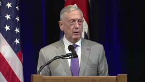 Mattis Participates in Joint U.S.-Australian News Conference