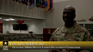 2503rd DLD Change of Command